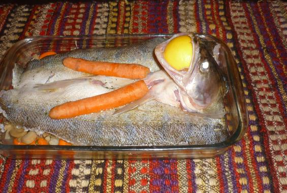 Сулка на фурна със зеленцуци /по попски/