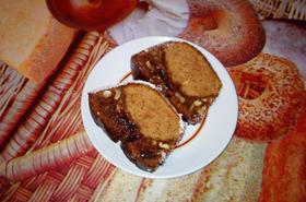 Кекс с локум и орехи