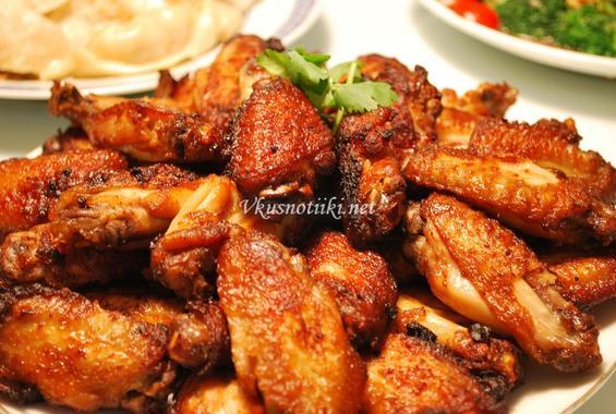 Пилешки крилца - пържени