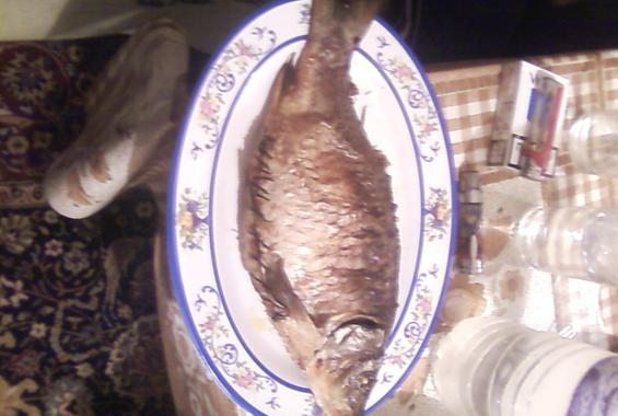 Риба палнена с кайма