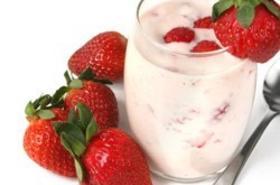 Плодов крем от ягоди