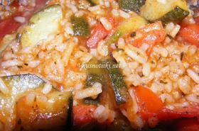 Мусака от домати и ориз