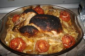 Пиле по царски