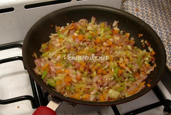 Свинско месо със зеленчуци