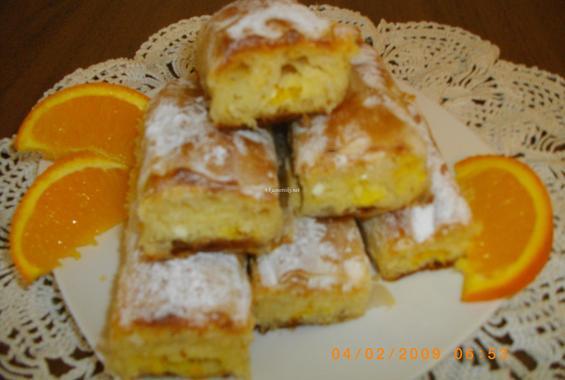 Сладка баница с портокал