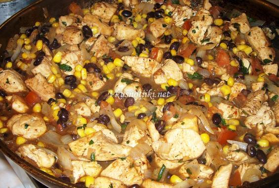 Саламура (Пилешко със зеленчуци)