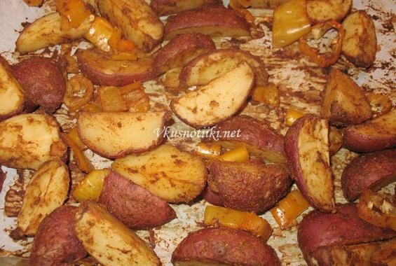 Картофи на фурна III
