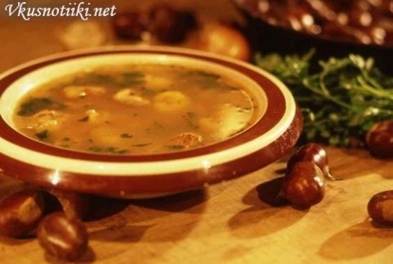 Супа с кестени