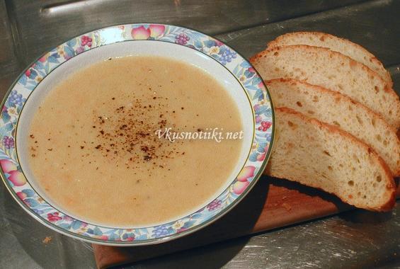 Супа от праз с картофи