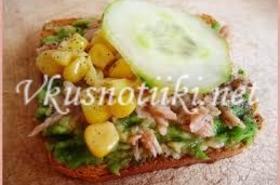 Сандвич по недопреси