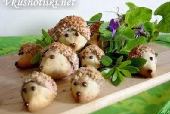Орехови таралежчета