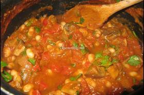 Гъби с доматен сос