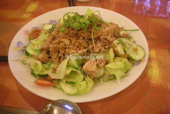 Салата с риба тон(шунка)