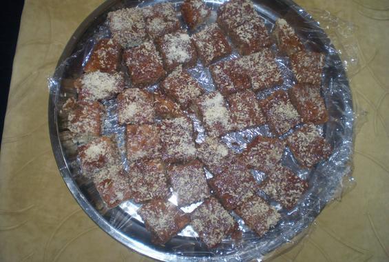 Шоколадови хапки с кокос