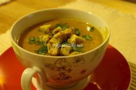 Крем супа от картофи с кротончета