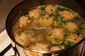 Супа - топчета и картофи
