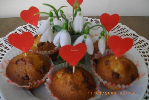 Мъфини за св Валентин