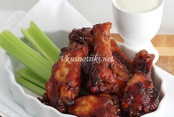 Вкусни пилешки крила