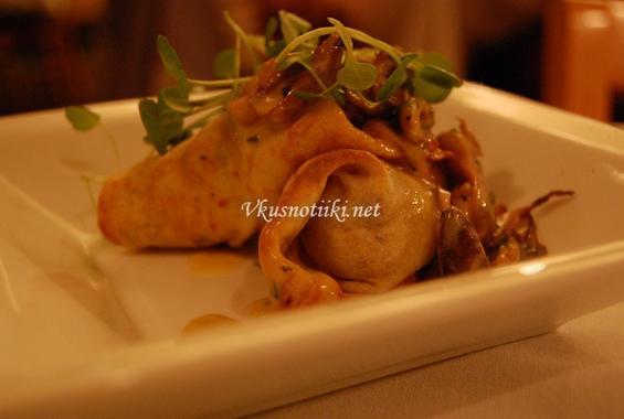 Пилешко месо в палачинка