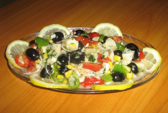 Вкусна салата от риба
