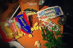 Вегетариански пържени ньоки