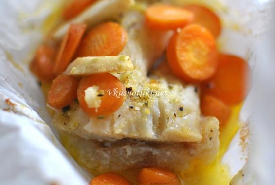 Задушено рибно филе