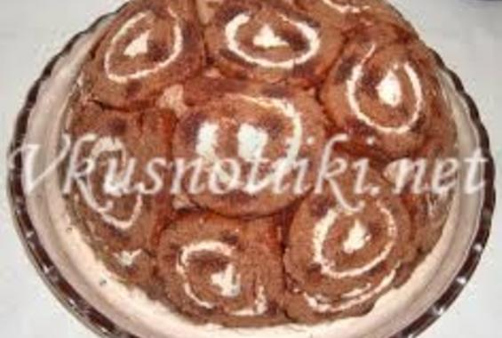 Торта с руло