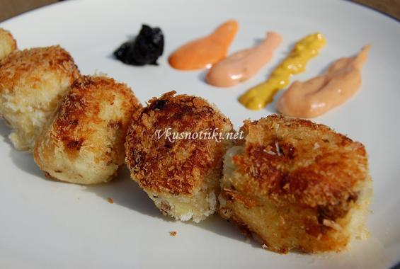Панирани картофи