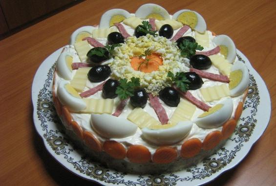 Пилешка торта