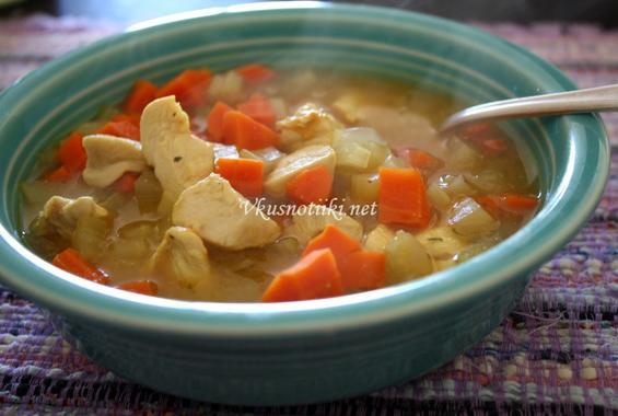 Фина пилешка крем супа