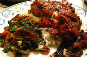 Пилешко месо с ориз