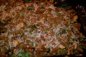 Печени макарони по италиански