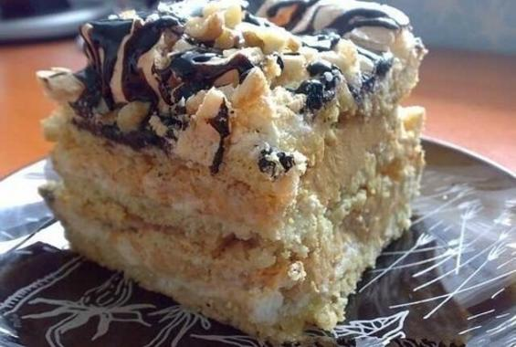 Торта - Въздушен сникърс