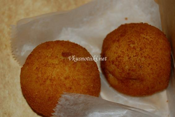 Картофени кюфтенца с кайма