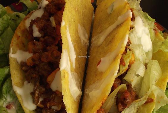 Мексикански такоси с телешка кайма