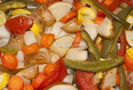 Запечени зеленчуци