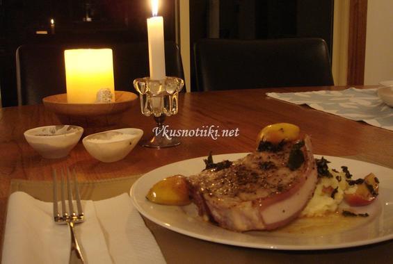 Свински пържоли на фурна