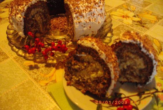 Кекс с портокалови кори