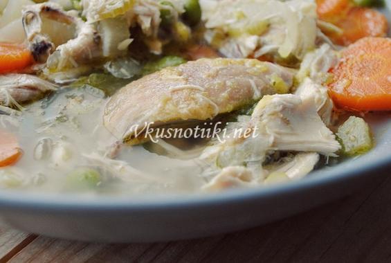 Супа от пилешко месо