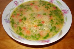 Зеленчукова супа със застройка