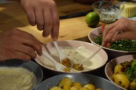 Лесни сосове за салати и картофи